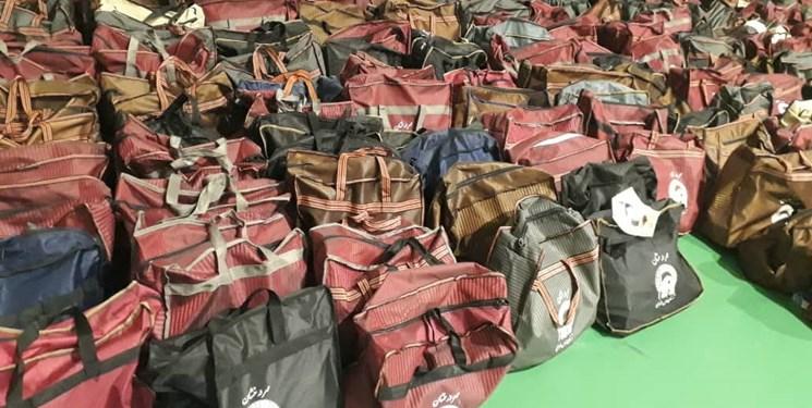 توزیع 1000 بسته کمک مومنانه در دهه پایانی صفر در بابل