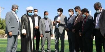افتتاح ۴ زمین چمن مصنوعی در مدارس بندرخمیر