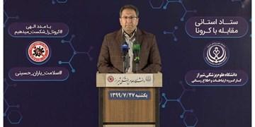 ۲۷ مهر؛ سیاهترین روز فارس با مرگ ۲۱ هماستانی دیگر بر اثر کرونا ویروس