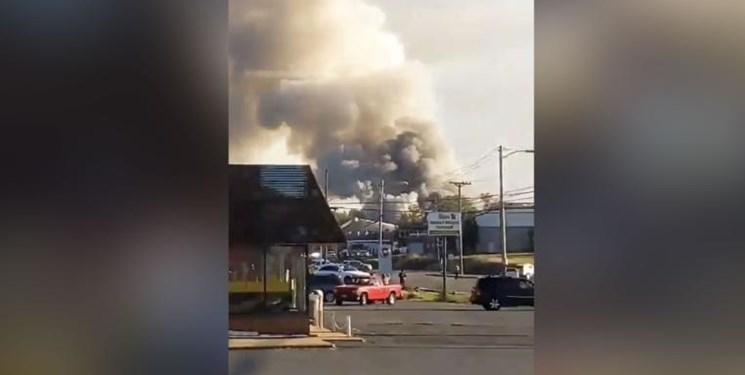 انفجار در ویرجینیا حداقل 5 زخمی بر جا گذاشت
