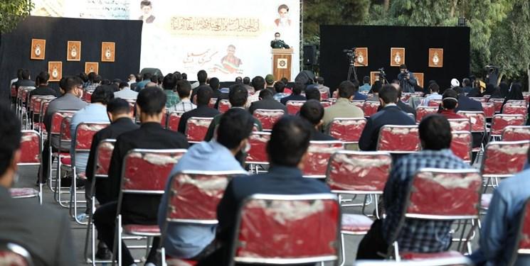 برگزاری مراسم هفتمین روز آسمانیشدن بسیجی جهادگر کسری اسمعیلی