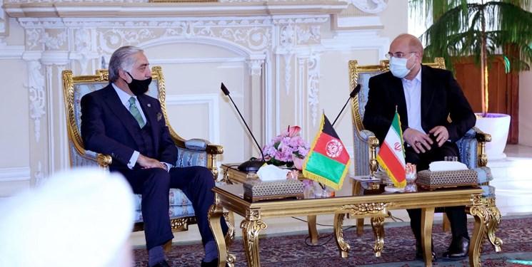عبدالله: مجلس شورای اسلامی ایران از صلح پایدار در افغانستان حمایت میکند