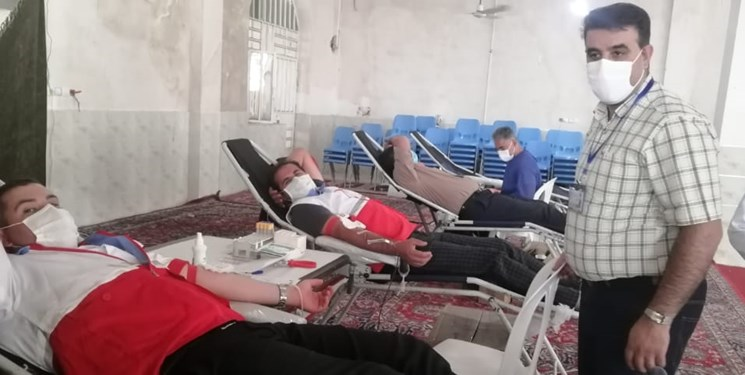 گسترش همدلی مردم با نذر خون در شهرستان رستم