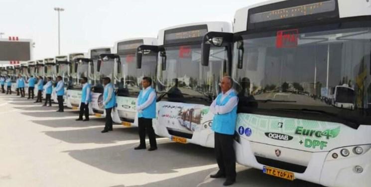 سهم اهواز در واردات اتوبوس از طریق تهاتر نفت  کجاست؟