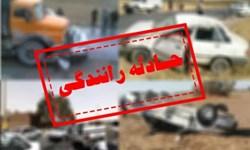 یک کشته در برخورد شدید پراید و نیسان در جاده مغان