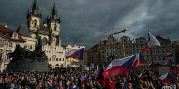 درگیری پلیس پراگ با معترضان به خشونت کشیده شد