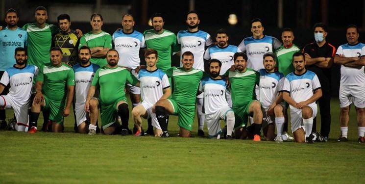پیروزی تیم کادر فنی فولاد برابر رسانه ورزش خوزستان