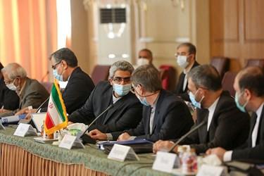 هیئت ایرانی  حاضر در دومین دور مذاکرات ایران و اوکراین پیرامون سقوط هواپیمای اوکراینی