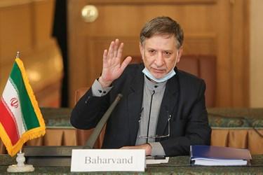 محسن بهاروند معاون امور حقوقی و بین المللی وزارت خارجه در دومین دور مذاکرات ایران و اوکراین پیرامون سقوط هواپیمای اوکراینی