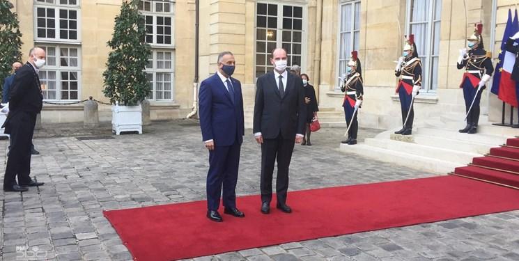 رایزنی نخستوزیر عراق با همتای فرانسوی درباره تقویت روابط امنیتی و اقتصادی