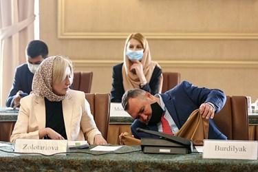 هیئت اوکراینی حاضر در دومین دور مذاکرات ایران و اوکراین پیرامون سقوط هواپیمای اوکراینی