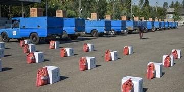 اهدای ۱۱۴ سری جهیزیه در کنار ۴۰۰۰ بسته کمک معیشتی