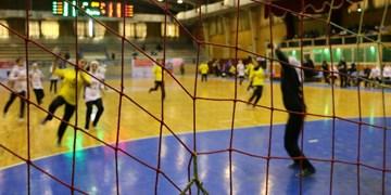 لیگ برتر هندبال بانوان  برتری پرسپولیس مقابل فیروزآباد