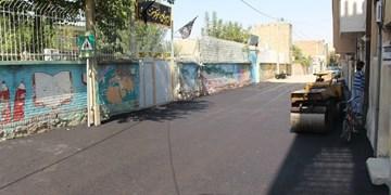 آسفالت بیش از   471 هزار متر مربع از  معابر روستایی گچساران از محل قیر رایگان