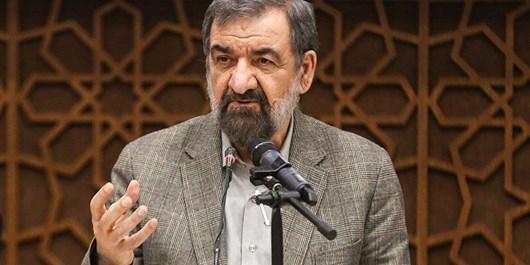 محسن رضایی: افکار آمریکایی و تحریم آمریکایی دو لبه قیچی مشکلات ما است