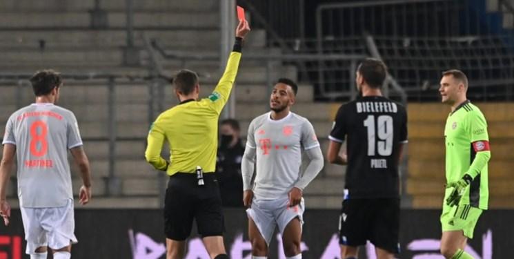 تولیسو محروم از بازی با فرانکفورت و کلن