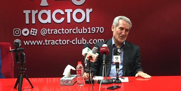 انتقاداتپذیر هستم/مظاهری با توسل به یک بند قراردادش را فسخ کرد/تراکتور توانایی قهرمانی در لیگ را دارد