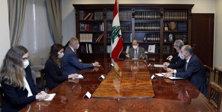 مذاکرات ترسیم مرزی| ابراز امیدواری «عون» به حصول توافق برای حفظ حقوق حاکمیتی لبنان