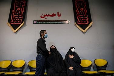 مراسم وداع با پیکر شهید امر به معروف «محمد محمدی»