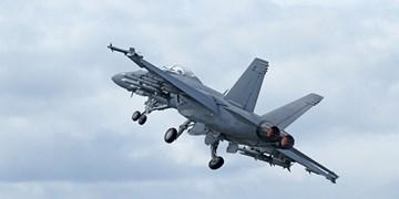 سقوط جنگنده اف-18 در جنوب کالیفرنیا