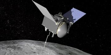 نمونه برداری ناسا از سیارک در حال عبور