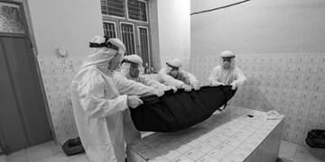 روایتی از ایثار طلاب جهادی لامرد در غسل و تدفین اموات کرونایی