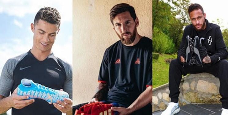 سبقت نیمار از مسی و رونالدو با تبلیغ پوما/ بررسی قراردادهای این 3 بازیکن