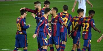 باخت در ال کلاسیکو تمرین بارسلونا را تعطیل کرد
