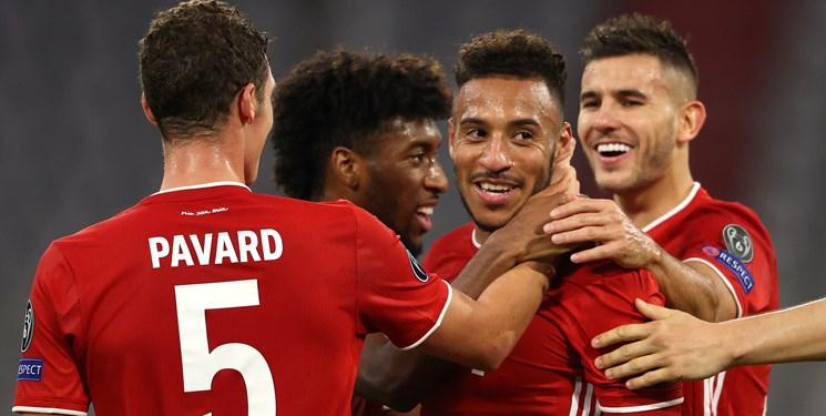 لیگ قهرمانان اروپا|گلباران اتلتیکو به دست بایرن/پیروزی لیورپول و منچسترسیتی مقابل یاران طارمی