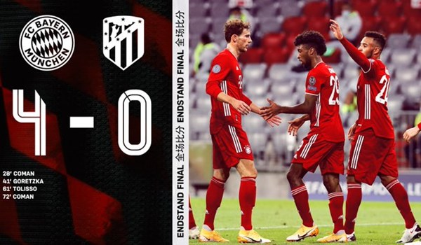 خلاصه بازی بایرن مونیخ 4 – اتلتیکو مادرید صفر