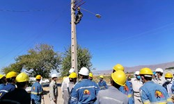 برگزاری دوره آموزشی نصب و اجرای کابل خودنگهدار برق در کاشمر