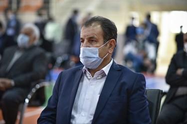 حضور فریدون اصفهانیان ، رییس کمیته داوران لیگ برتر فوتبال کشور