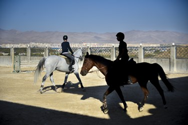 بهره برداری از مجموعه سوارکاری و پرورش اسب توسط وزیر ورزش و جوانان