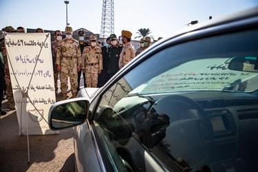توقیف خودروها و قایق های حامل قاچاق توسط مرزبانی بوشهر