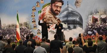 تجدید بیعت آملهای با شهدا و انقلاب در هفتمین روز تدفین پیکر شهید رضا حاجیزاده