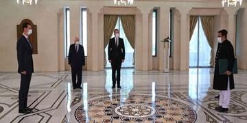 سفرای پاکستان و عمان، استوارنامههای خود را تقدیم  بشار اسد کردند