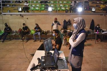 داوران در اردوی انتخابی  المپیک سنگنوردی - زنجان
