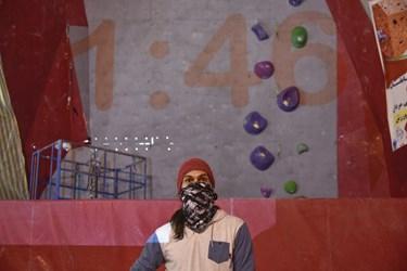 ثانیه شمار رقابت های اردوی انتخابی  المپیک سنگنوردی در زنجان