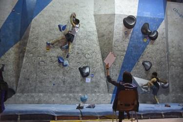تایید نهایی داور در اردوی انتخابی  المپیک سنگنوردی در زنجان