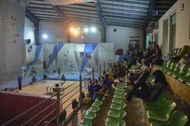 در حاشیه اردوی انتخابی  المپیک سنگنوردی در زنجان