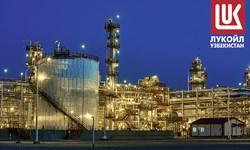 «لوکاویل» استخراج گاز در ازبکستان را افزایش داد