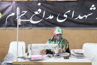 تلاش بانون جهادی سمنان در حسینیه همدلی