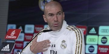 زیدان: مارادونا برای من و همه منبع الهام بود/با نمایش خوب مقابل اینتر 3 امتیاز ارزشمند کسب کردیم