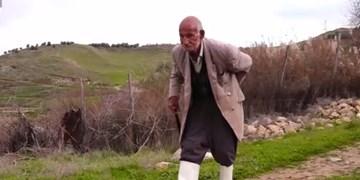 فیلم| روایت تبدیل زمینهای بایر به زمین کشاورزی با دستهای پربرکت پیرمرد ایلامی