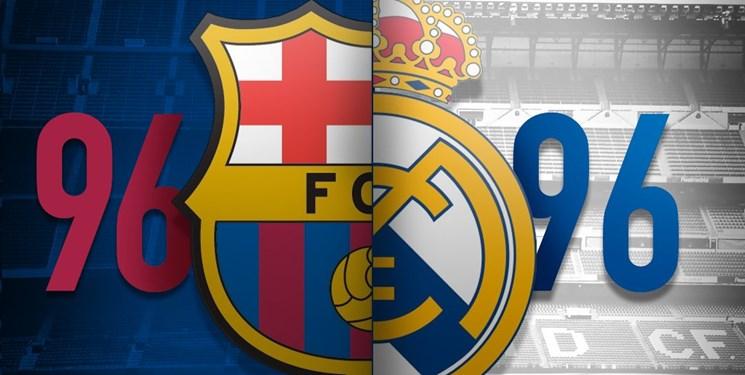 بارسلونا 96-رئال مادرید96؛ بررسی نتایج الکلاسیکو در تاریخ فوتبال