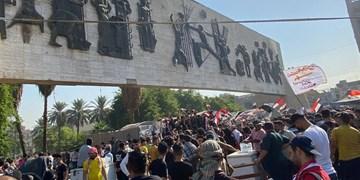 آغاز تظاهرات در شهرهای مختلف عراق به مناسبت نخستین سالگرد اعتراضات اکتبر+عکس
