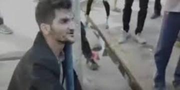 فیلم| تصاویر دوربین مداربسته از محل درگیری مهرداد سپهری