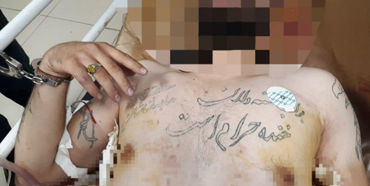 دستگیری یکی از  اراذل و اوباش قمه کش در تبریز