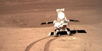 مسافرت 565.9 متری ماه نورد چین بر روی تنها قمر زمین