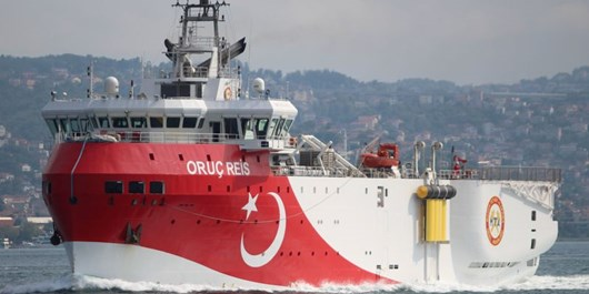 ترکیه به عملیات اکتشاف در شرق مدیترانه ادامه میدهد